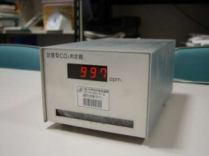 参考:CO2濃度測定局に設置する機器